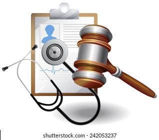 Medical Negligence Compensation - Illustration