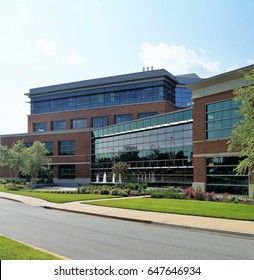 Medical Office Building. A modern medical office building on a hospital campus housing physician practices and other health care services