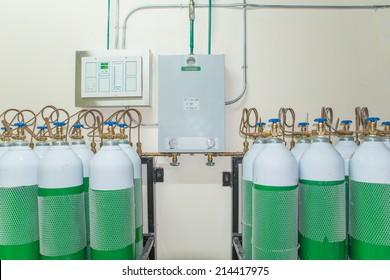 Medical Oxygen Tank Images, Stock Photos & Vectors