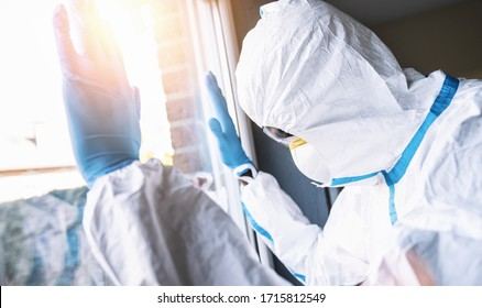 Medical personnel with intensive care burnout during coronavirus pandemic