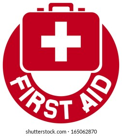 medical sign button (first aid sign)