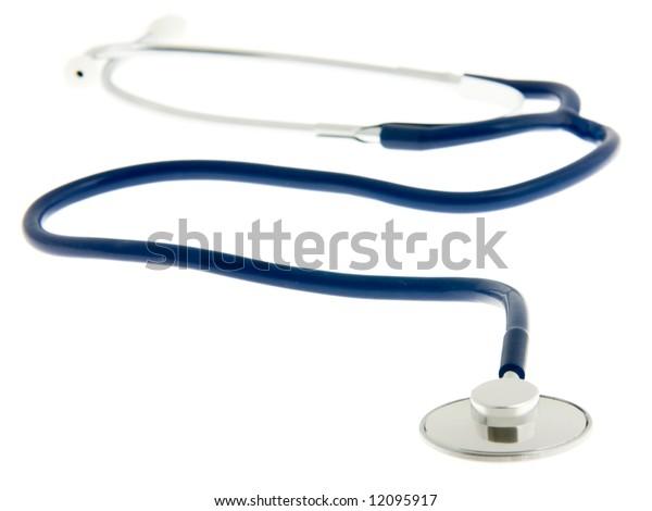 Medical Stethoscope Isolated on White