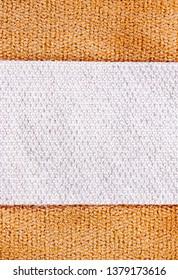 medical strip patch detail close up, concept medicine