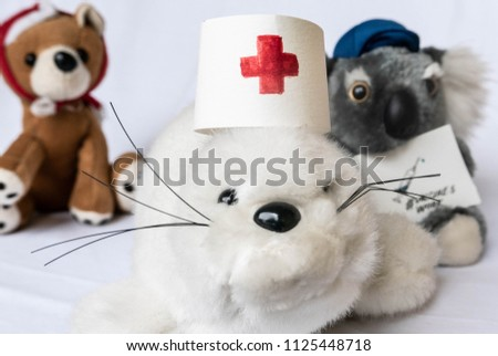 Medical Stuffed Toys Preventable Diseases Child Stock Photo (Edit ... 8e67c9d722f6
