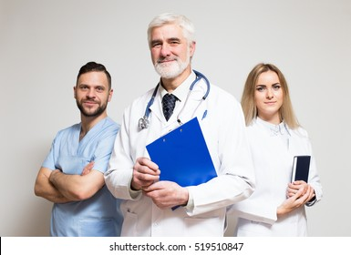 medical team studio