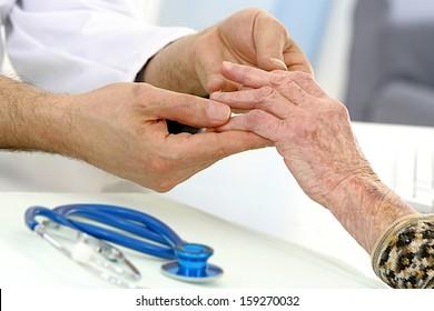 Medical Visit - elderly care -- dare-deforming arthritis