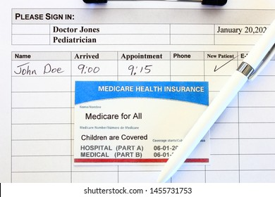 """Medicare for all, """"Children are Covered"""""""