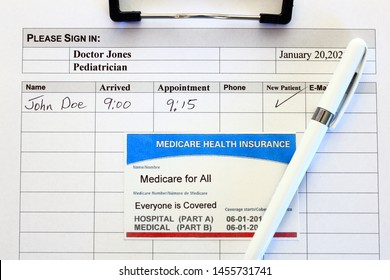 """Medicare for all, """"Everyone is Covered"""""""