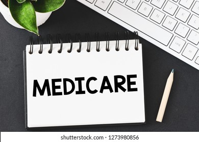 Medicare text concept