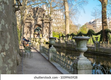 Medici Fountain in the Luxembourg Garden (Jardin du Luxembourg), Paris