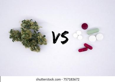 Medicinal cannabis against chemical pills