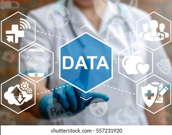 Medicine big data smart mobile computer health care integration iot concept. Medical information database cloud server healthy web technology
