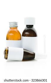 Medicine bottle, drugs