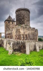Medieval 14th century castle in Bedzin, Poland