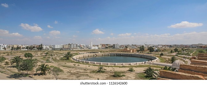 Medieval Aghlabid Basins in Kairouan,  Tunisia, North Africa