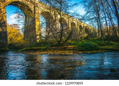 Medieval Aqueduct  in Scotland Avon Aqueduct Second Highest Aqueduct Ancient Brick construction Scottish Architecture