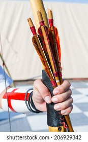 medieval archers bow and arrows ancient crafts historic medieval festival