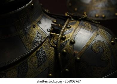 a medieval armor