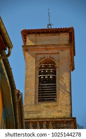 Medieval bell tower of Notre Dame de la Platé in Castres France