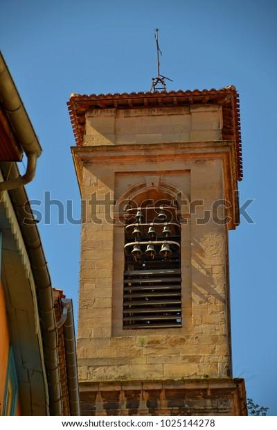 Medieval bell tower of Notre Dame de la Platé in Castres France