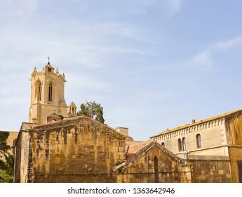Medieval buildings in Tarragona, Spain