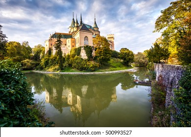 Medieval castle Bojnice, central Europe, Slovakia