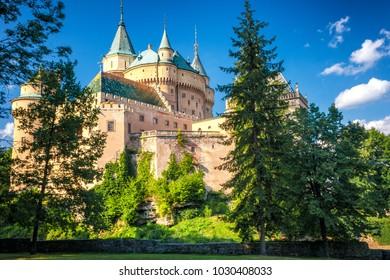 Medieval castle Bojnice, Slovakia, Europe.