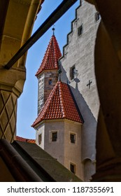 """Medieval Castle """"Bouzov"""" . Located in the South Moravia region in Czech republic, Europe. Tourism in Europe."""