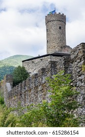 The medieval castle of Campoligure, village in the inland of Liguria