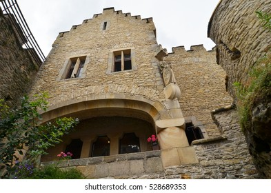 medieval castle Kokorin, Czech republic