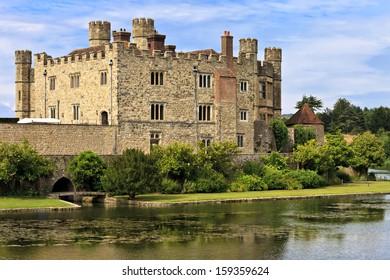 Medieval castle of Leeds, in Kent, England, United Kingdom (UK)