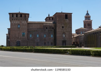 Medieval Castle of Mantova, Unesco World Heritage - Lombardy, Italy.