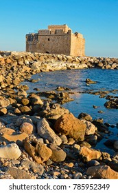 The Medieval Castle of Paphos in the harbour was originally built as a  Byzantine fort to protect the harbour and is situated on the outer rock covered sea wall.