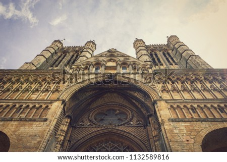 Medieval Cathedral Architecture Stock Photo (Edit Now