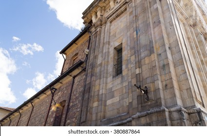 Medieval cathedral in Bogota, Colombia