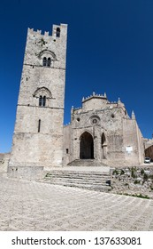Medieval Catholic Church Chiesa Matrice in Erice, Sicily