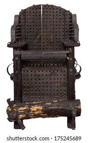 Medieval chair of torture