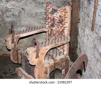 medieval chair for tortures