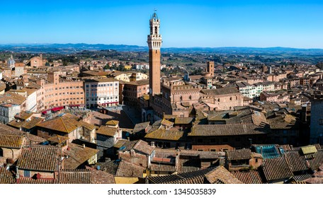 Medieval City of Siena in Tuscan - Italy