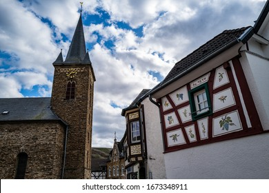 Medieval Dernau is a well-known wine-growing region on the Ahr in Germany.