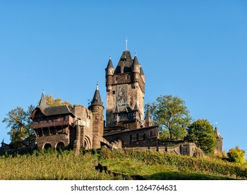 Medieval european castle in Germany