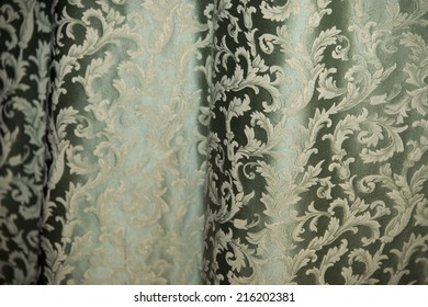 medieval fabric close up detail