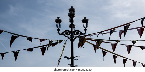 Medieval Flags in Malaga