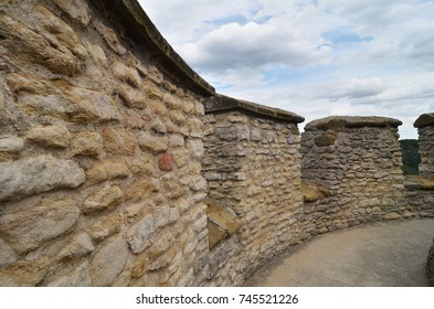 medieval fortification detail