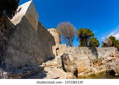 Medieval Fortifications of Krk town, Capital of Krk Island, Croatia