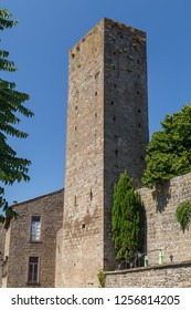 Medieval fortifications of Viterbo town, Italy