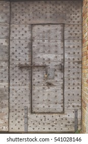 Medieval fortress armored door