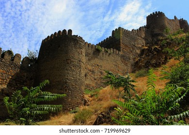 Medieval fortress in city Gori, Georgia