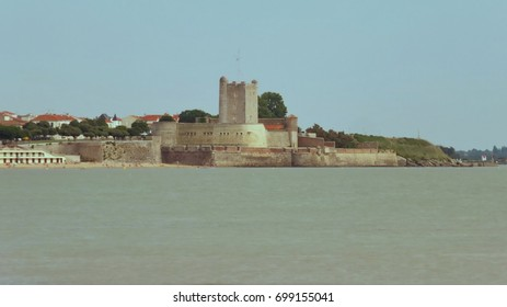 Medieval fortress of Fort Vauban in Fouras, France, also called Sémaphore of Fouras. The fort is situated near La Rochelle.