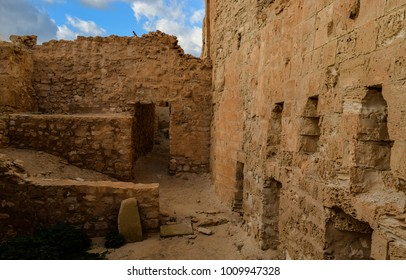 Medieval fortress in Houmt Souk town. Djerba island. Tunisia. Northern Africa. Fort Ghazi Mustapha